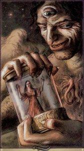 Dark Grimoire Tarot  Author: Giovanni Pelosini Artist: Michele Penco Lo Scarabeo 2008