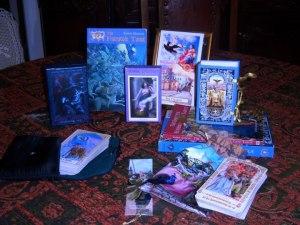 Tarot of Prague, Fairytale Tarot, Bohemian Gothic Tarot, Victorian Romantic Tarot, Baroque Bohemian Cats Tarot