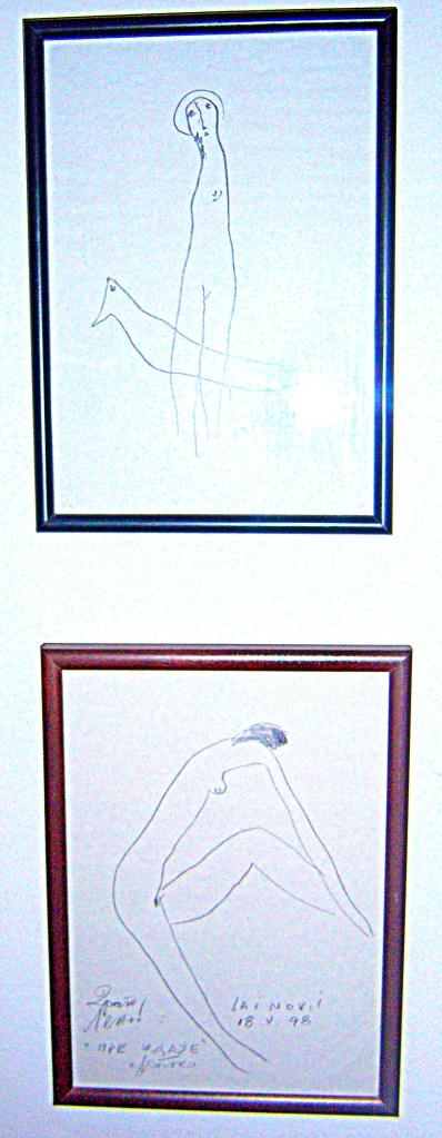 Cvetko Lainovic, nude drawings