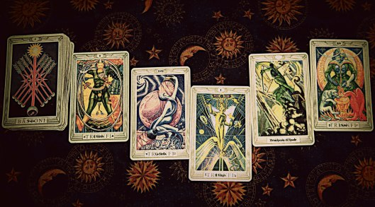 Weekly Photo Challenge: Tarot Reading From Above