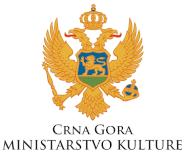 Logo ministarstvo kulture cg